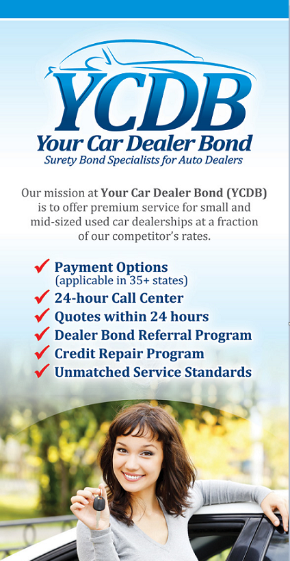 Dealer Bond Rider by Cal-Surety (YCDB Quicktips)