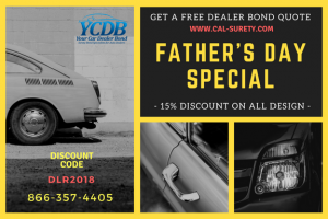 Father's Day Discount Card