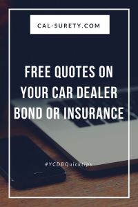 Retail Car Dealer Insurance FAQ