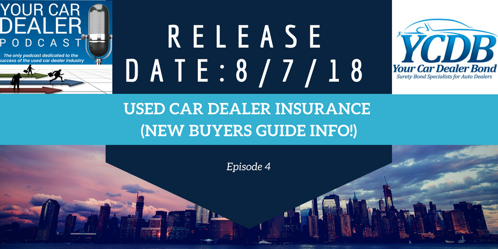 Used Car Dealer Insurance (NEW Buyers Guide Info!)