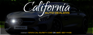 flipping cars in California requires a dealer bond!