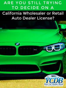 Used car dealer bonds