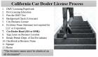 Car Dealer License